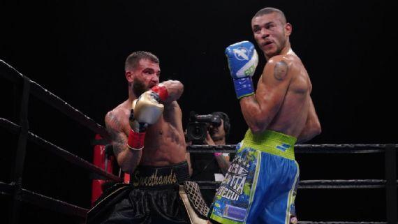 Caleb Plant takes Jose Uzcategui's 168-pound IBF belt in