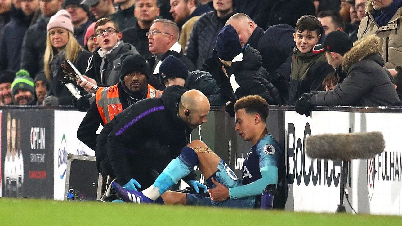 Alli injury 'doesn't look great' - Spurs boss Pochettino