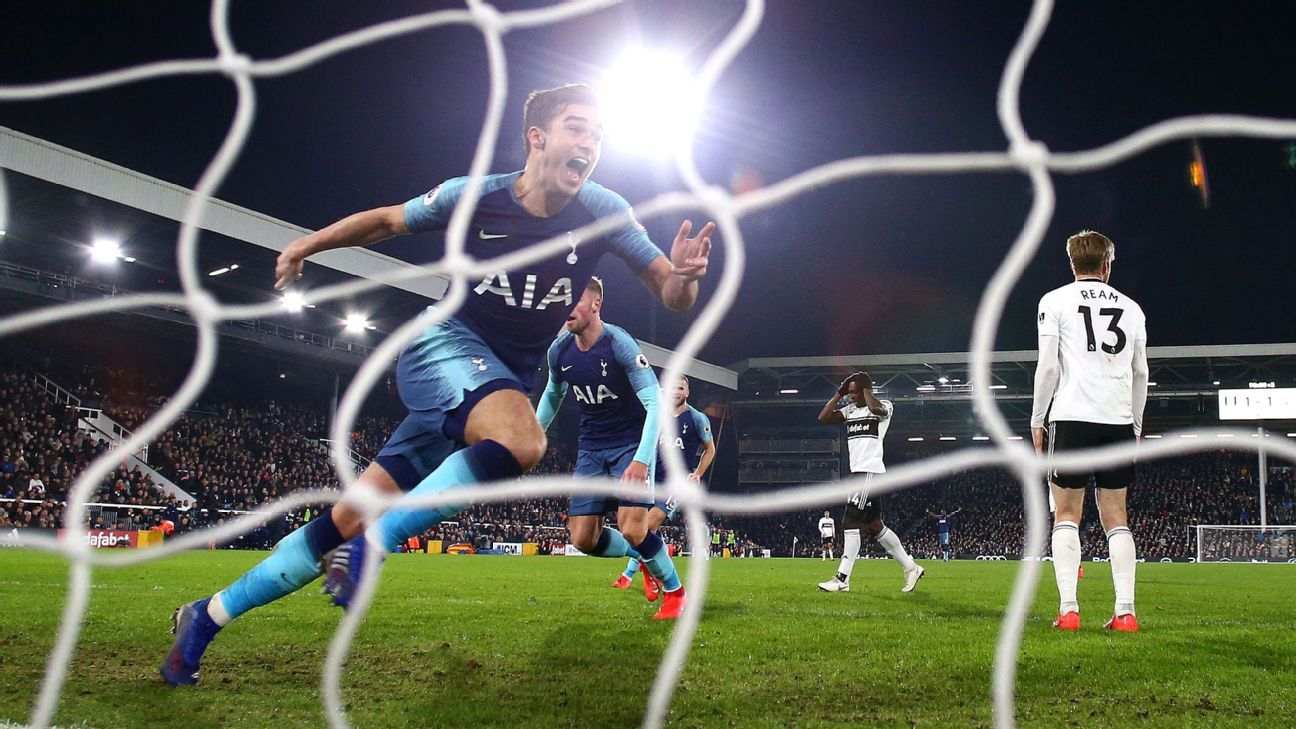 Fulham vs. Tottenham Hotspur - Football Match Report - January 20, 2019 - ESPN