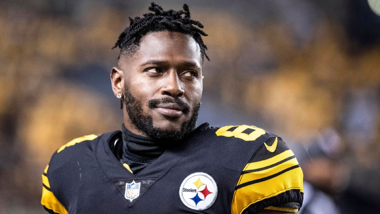 179d0424d How it has gone wrong with Antonio Brown and the Steelers - Pittsburgh  Steelers Blog- ESPN