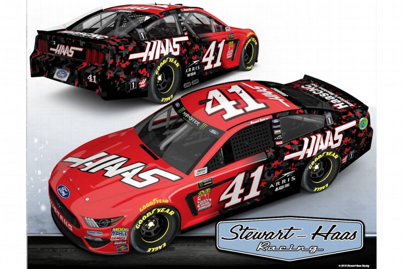2019 NASCAR Cup Series Paint Schemes - Team #41 Stewart Haas Racing