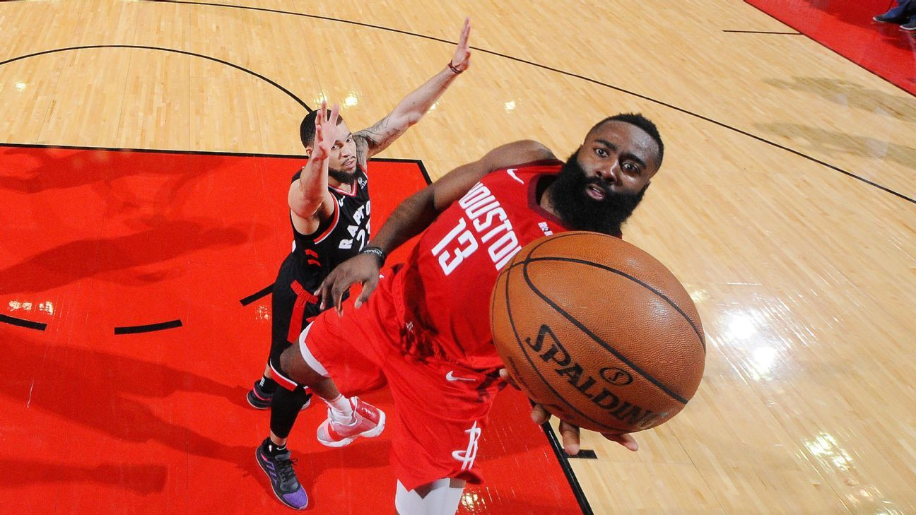 The Must See Numbers From James Harden S Incredible Hot Streak