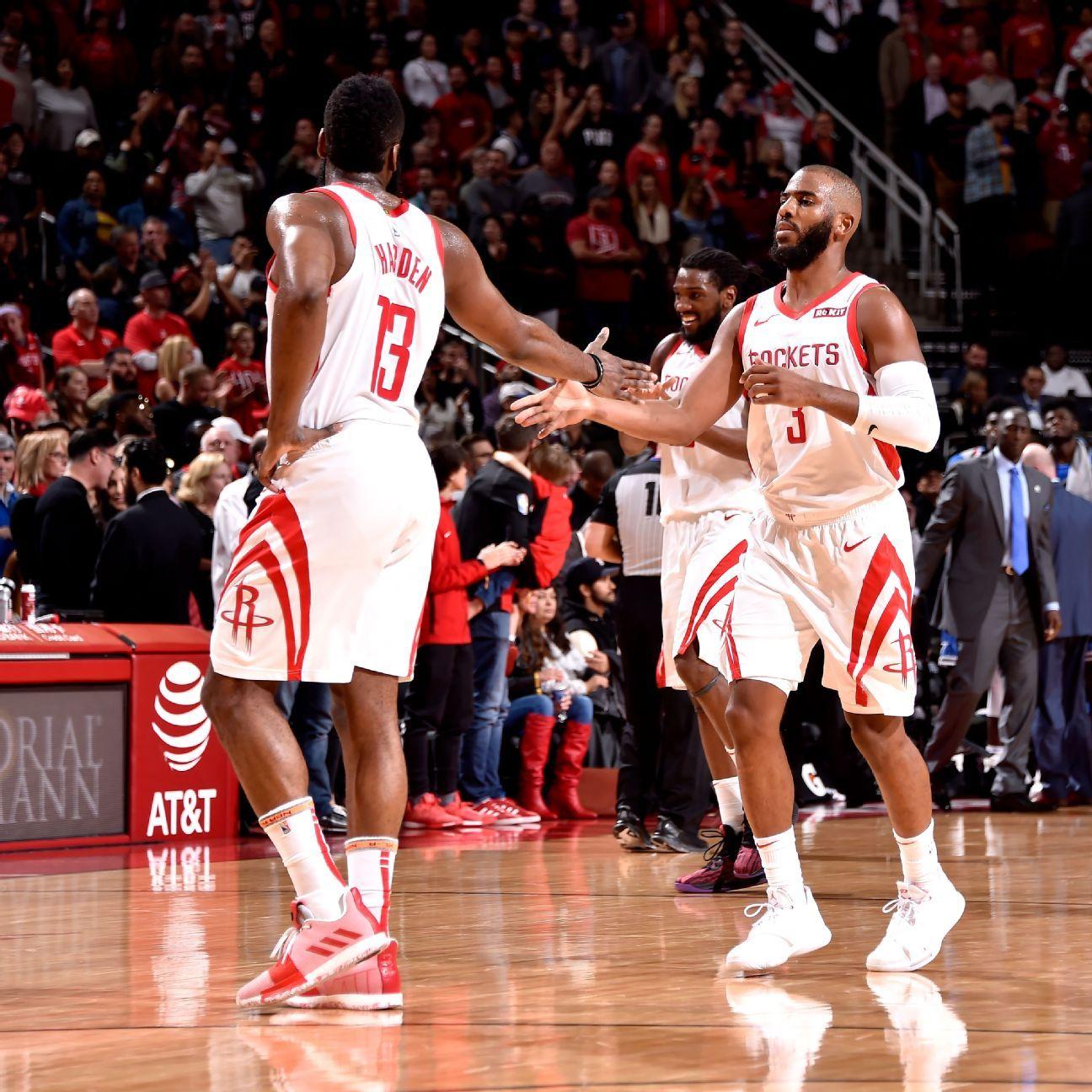 Chris Paul's return boosts James Harden, Houston Rockets