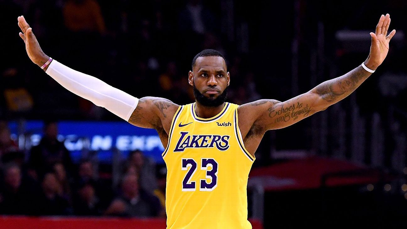 LeBron James' Los Angeles Lakers not favored to make the postseason at the Westgate Las Vegas SuperBook
