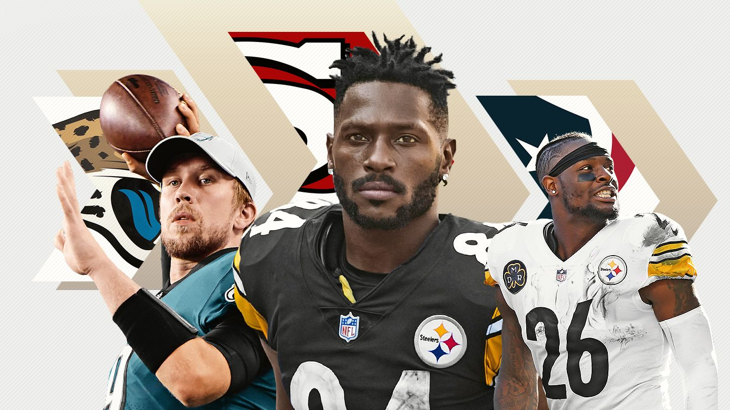 What's in store this offseason? Nick Foles and Le'Veon Bell head south, Antonio Brown moves west, and Browns fans make playoff plans.