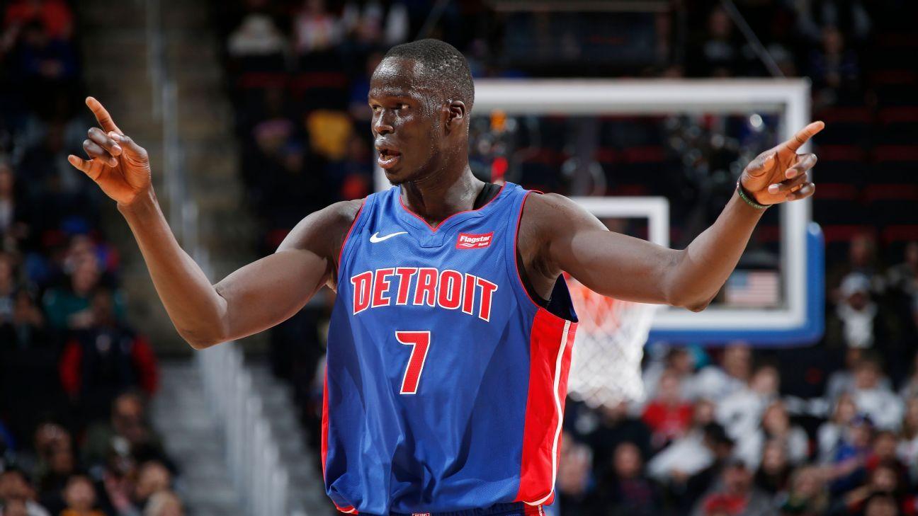 NBA Detroit Pistons Thon Maker s trade and future 2a02cbc66