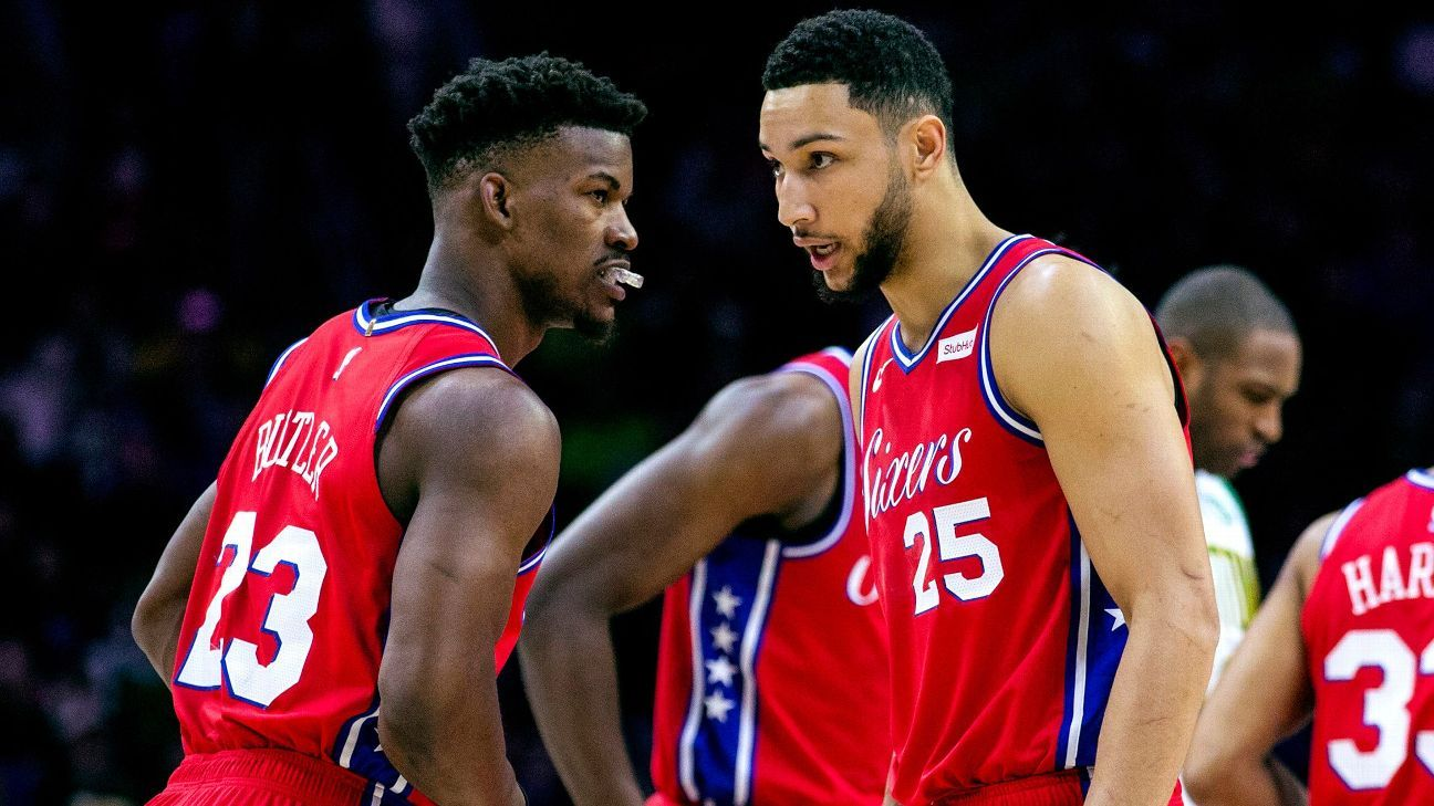6932aeb1b49 The Sixers  plan to make this work - Star power and simple play