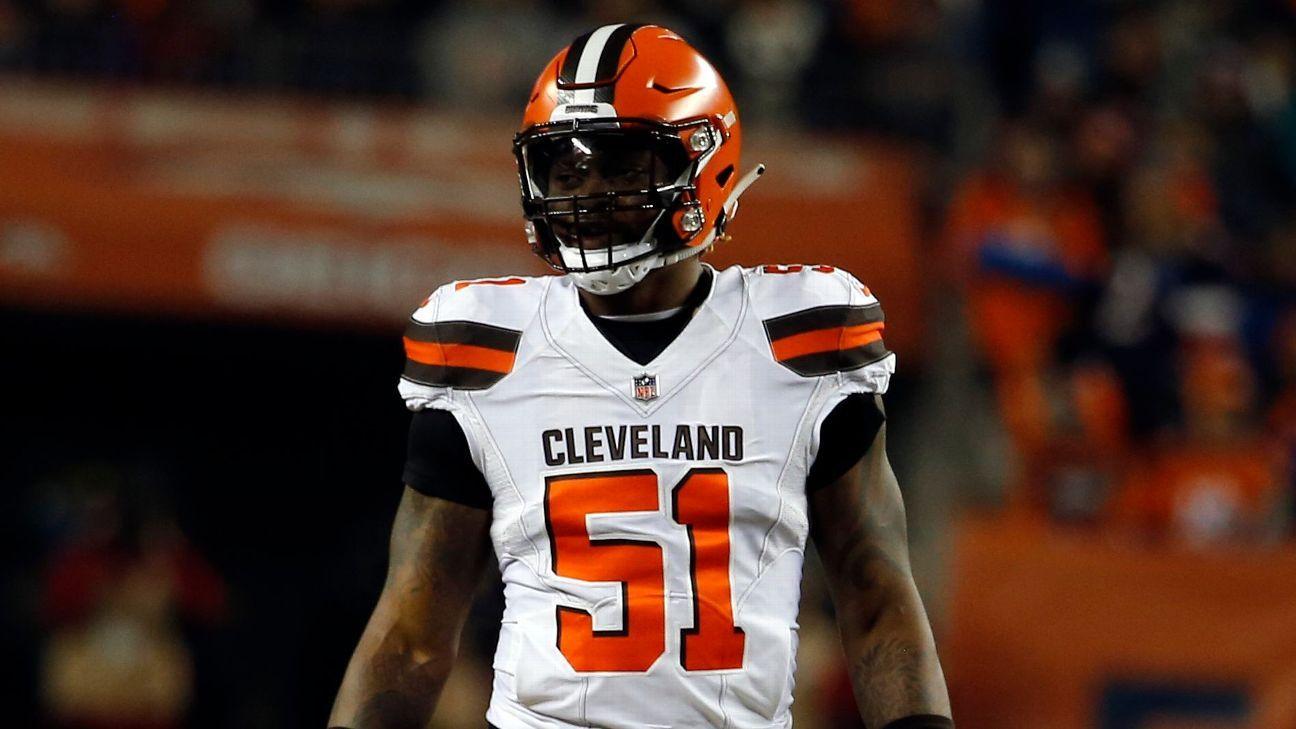 1618be04d58 Cleveland Browns se desprenden del linebacker Jamie Collins