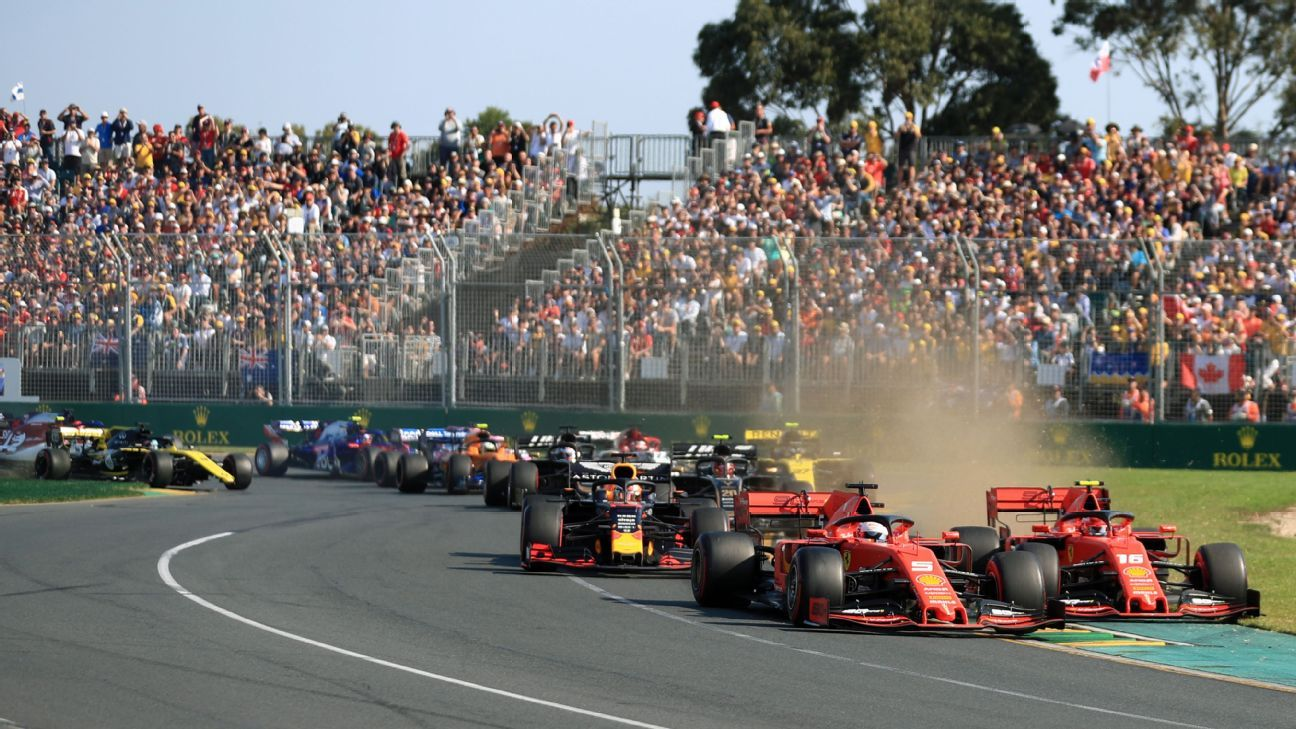 Formula One to hold auction for Australian bushfire relief