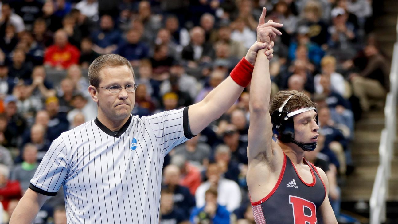 Rutgers gets 1st two wrestling national champs