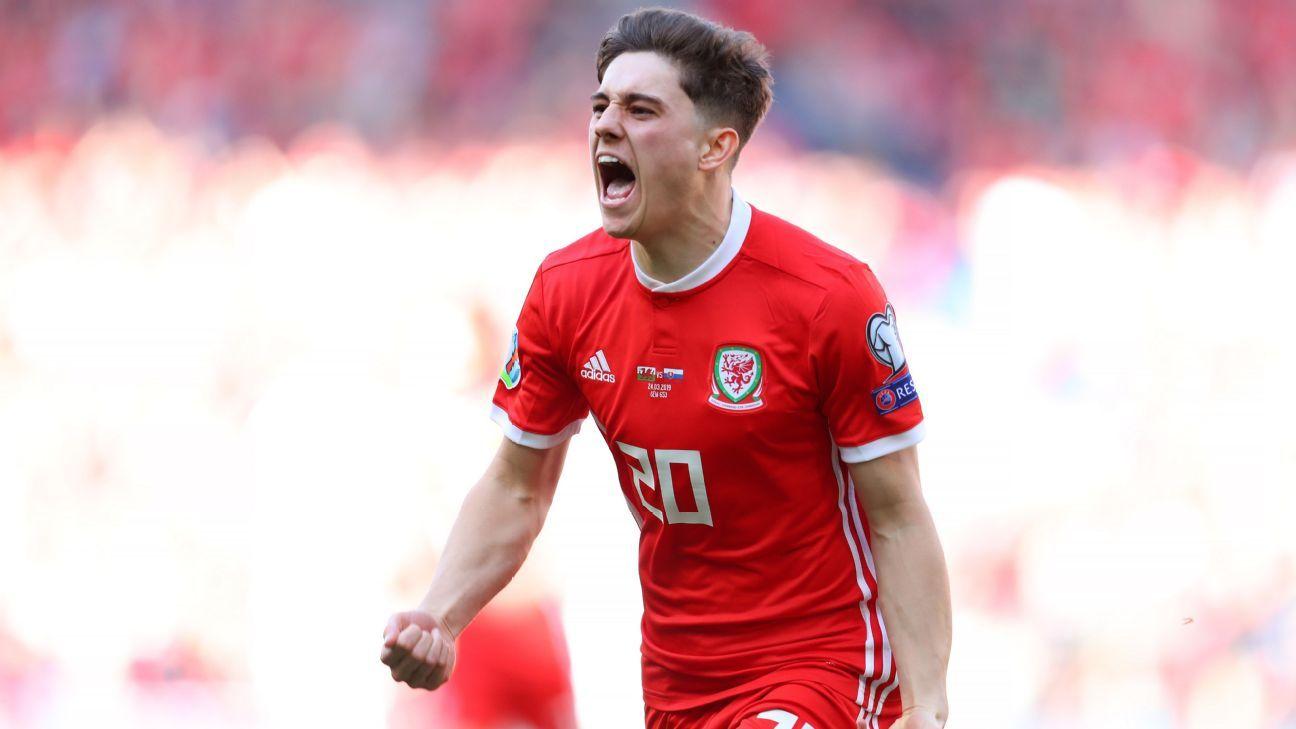 James strikes to give Wales narrow win over Slovakia