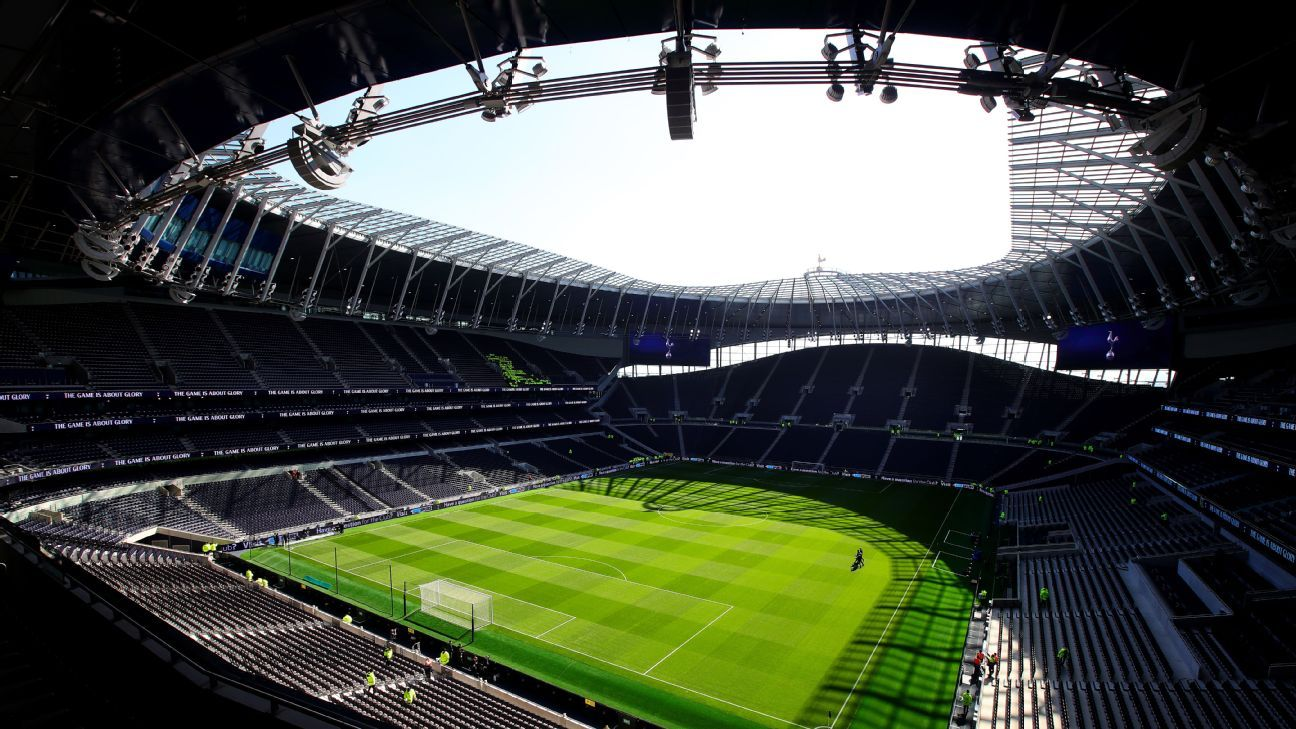 Tottenham stadium to host European club rugby finals in 2021