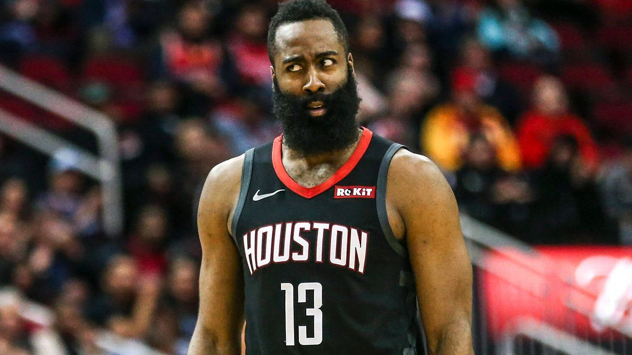 james harden 39 s workload is through the roof what does it mean for the playoffs. Black Bedroom Furniture Sets. Home Design Ideas