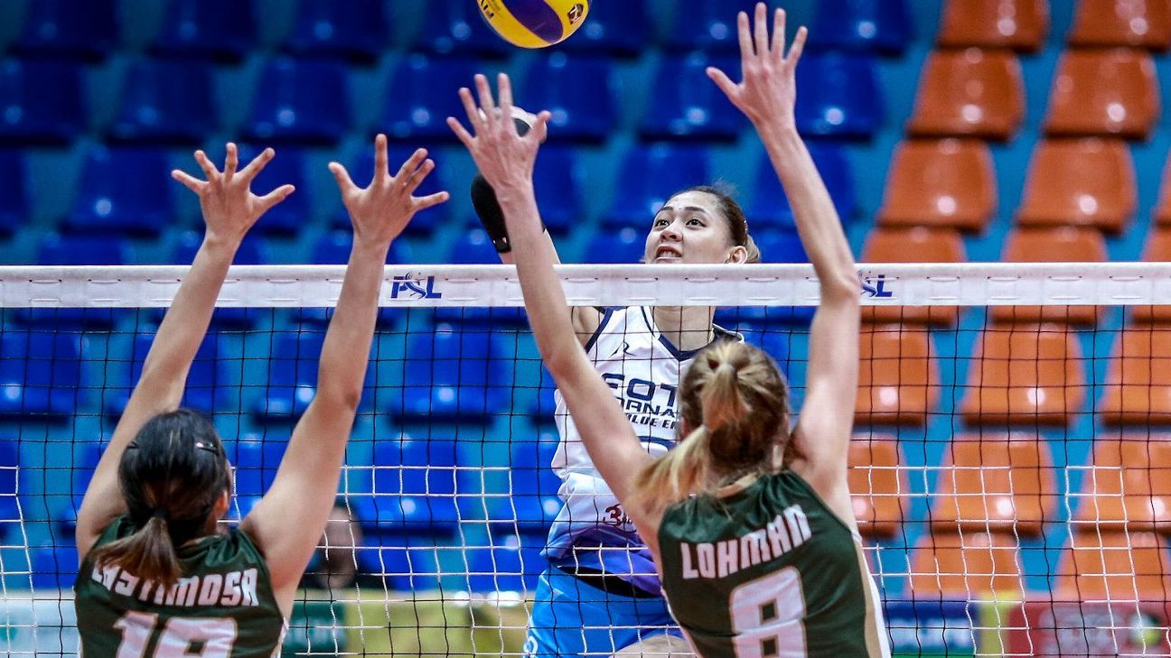 Jaja Santiago Hopes To Blaze A Trail For Pinay Volleyball