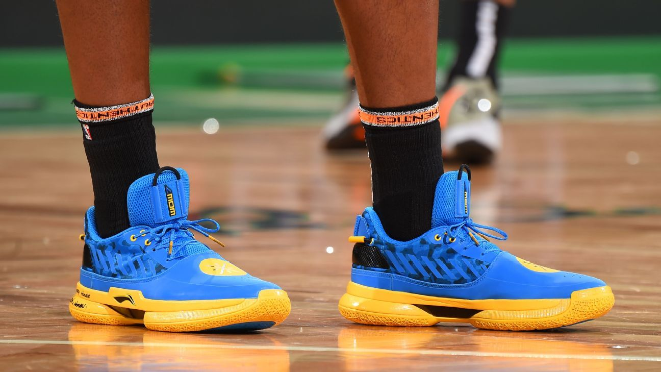 8037576d0d8 Which player had the best sneakers of Week 25 in the NBA