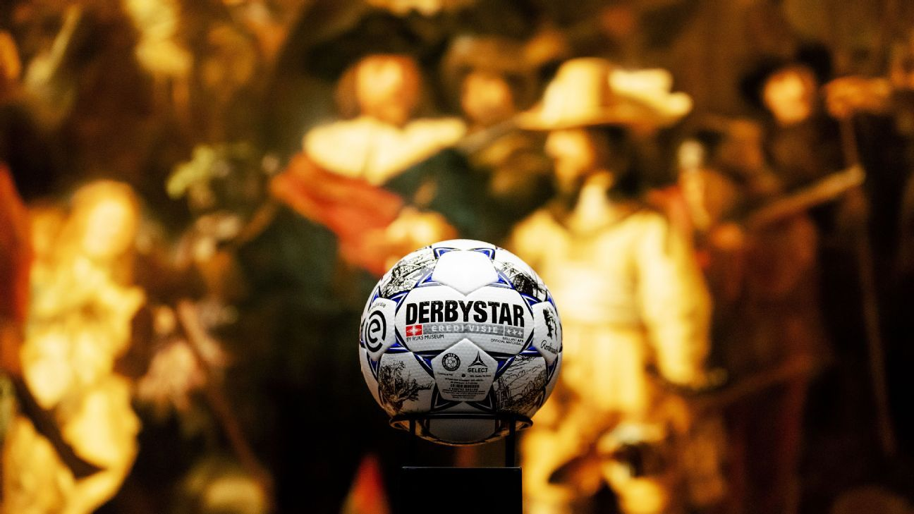 Dutch Masters: Eredivisie debuting commemorative Rembrandt ball on April 28