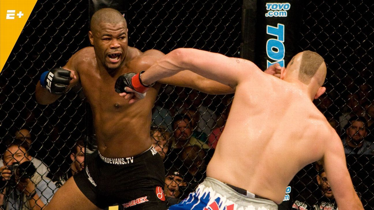 Ex-champion Evans to enter UFC Hall of Fame