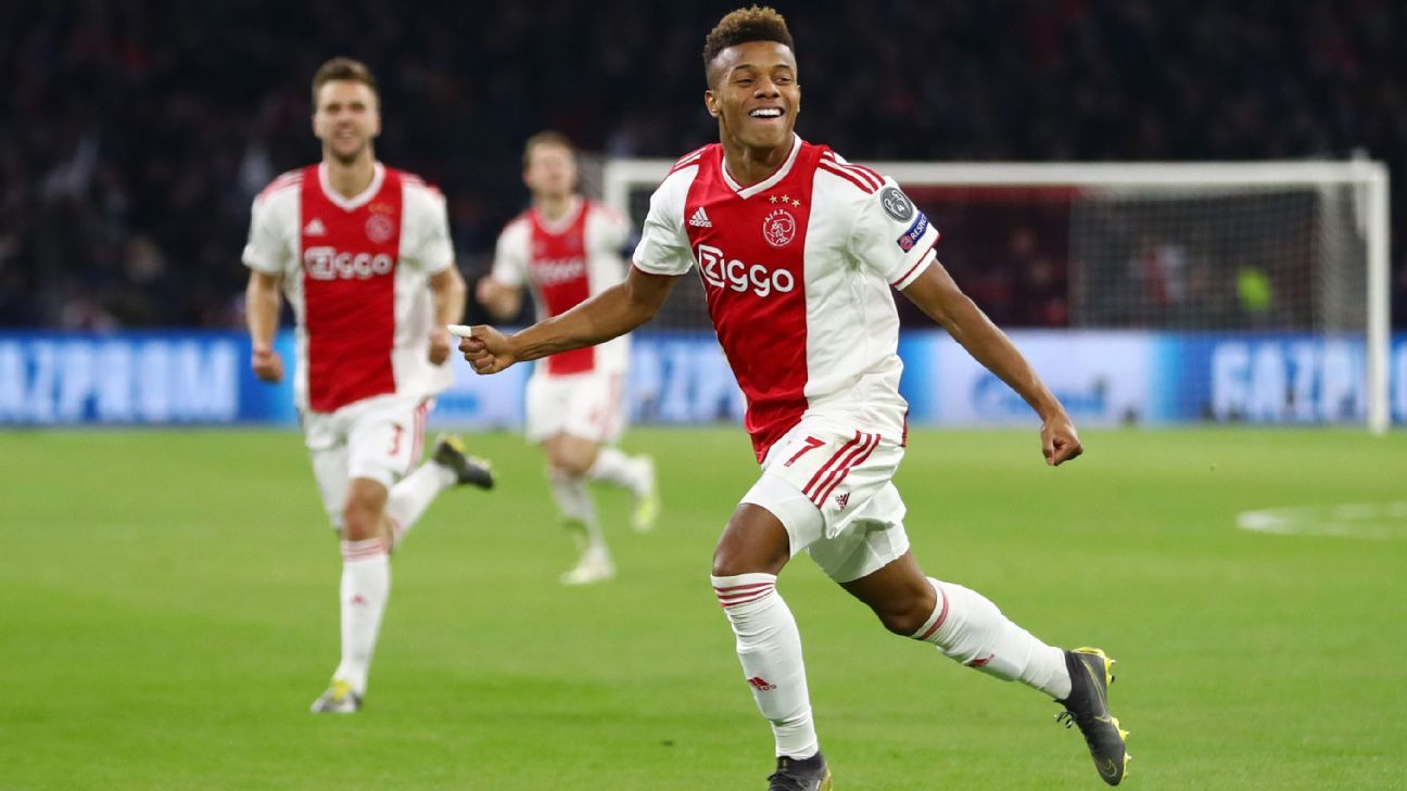a6fcd3f0c Transfer Talk  Arsenal target Ajax winger David Neres after Juventus win