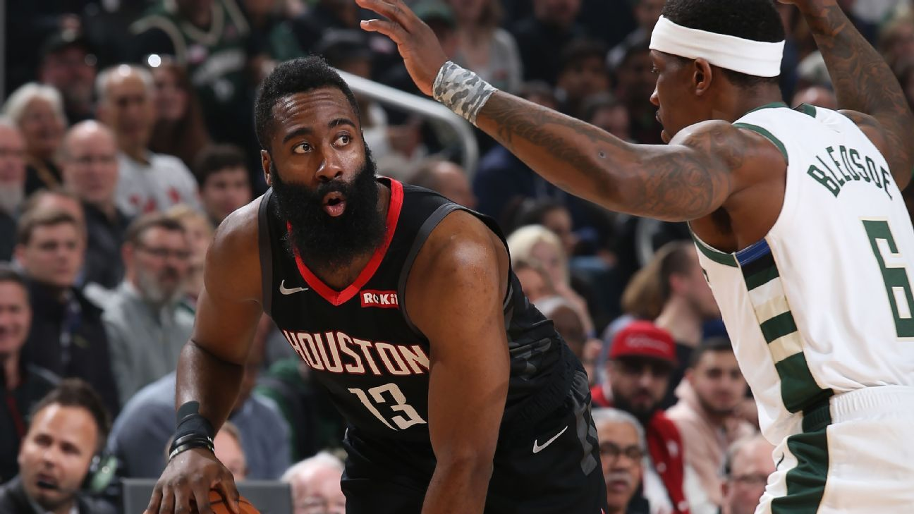 4388c903792f This unorthodox way to guard James Harden is either genius or a fluke