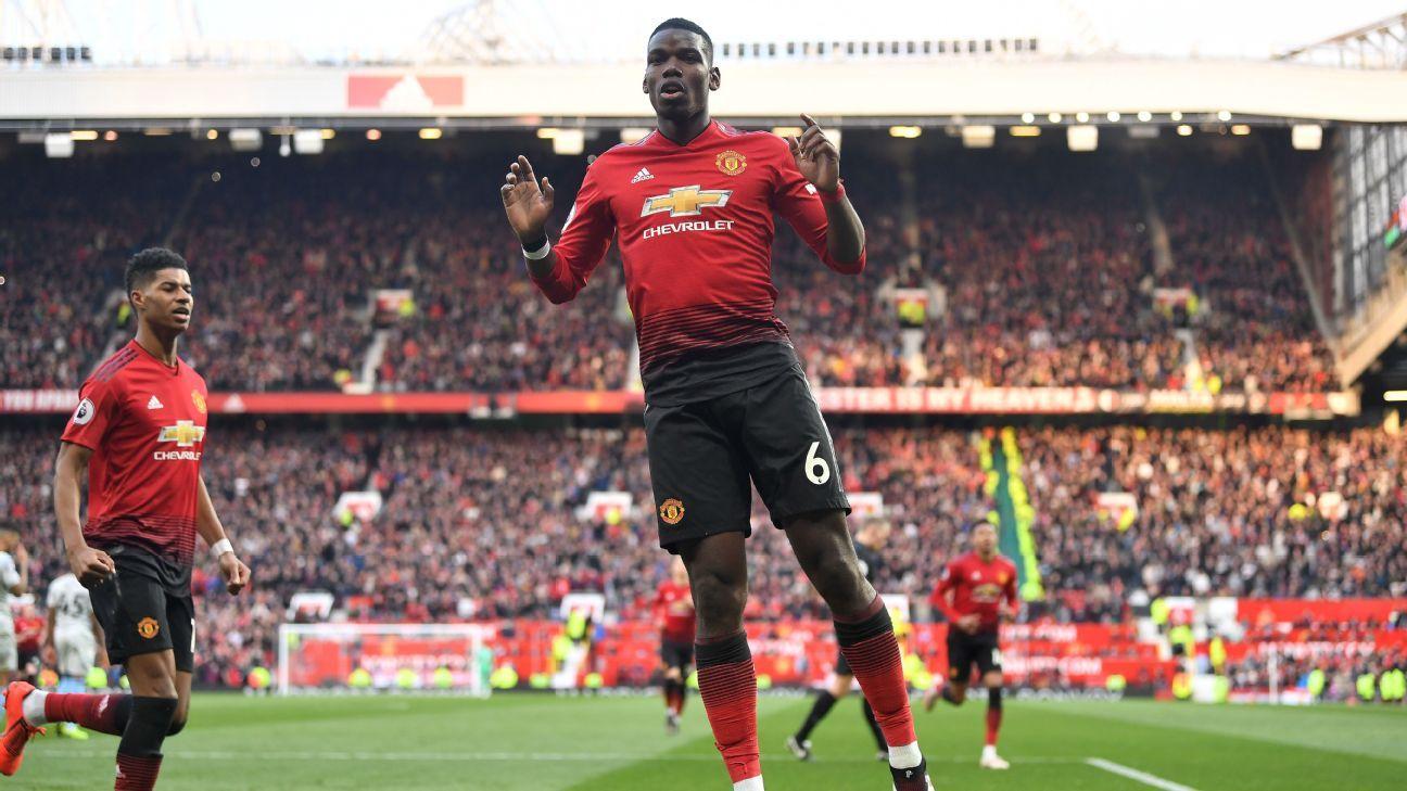 Manchester United Vs West Ham United Football Match Summary April 13 2019 Espn