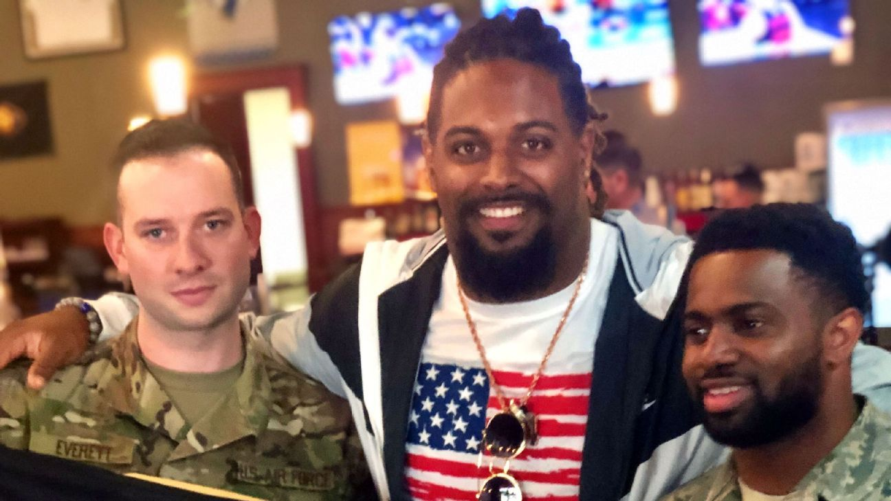 USO Tour highlights Cameron Jordan's trip around the world