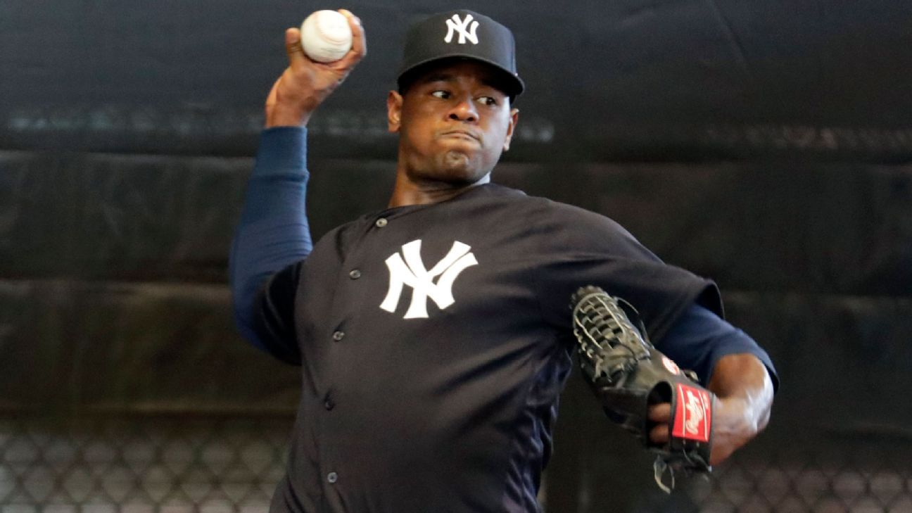 Yankees ace Luis Severino said Wednesday that he first felt the pain associated with his Grade 2 lat strain on the day he was scratched from what was to be his first spring training start -- on March 5.