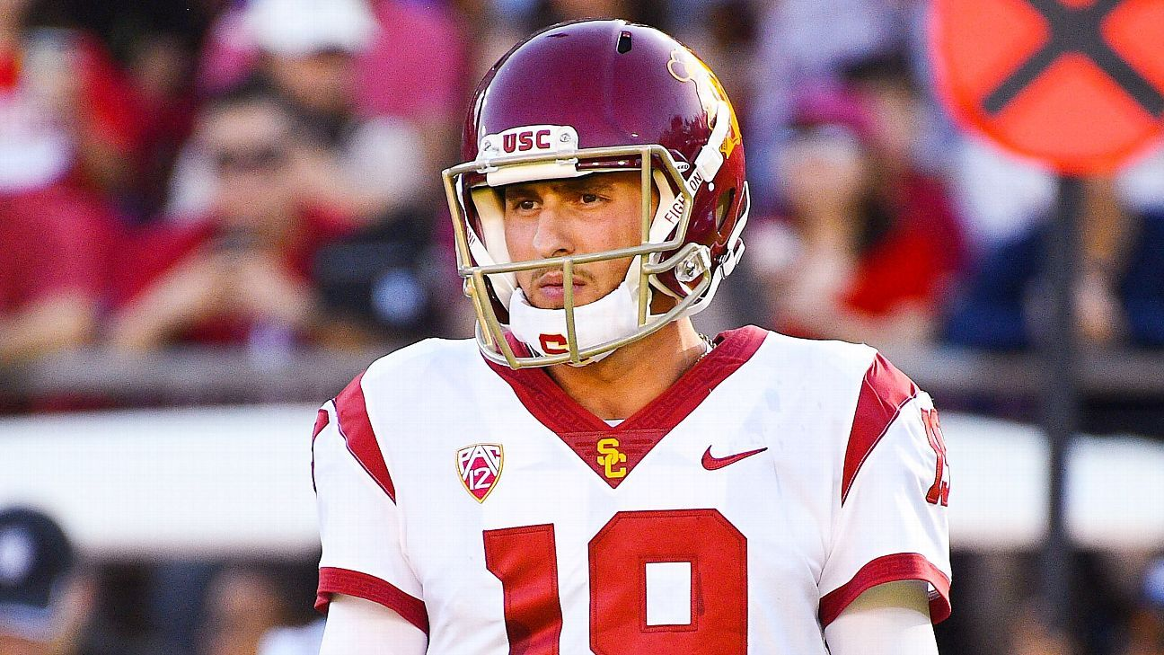 USC QB Fink in portal, seeking more playing time