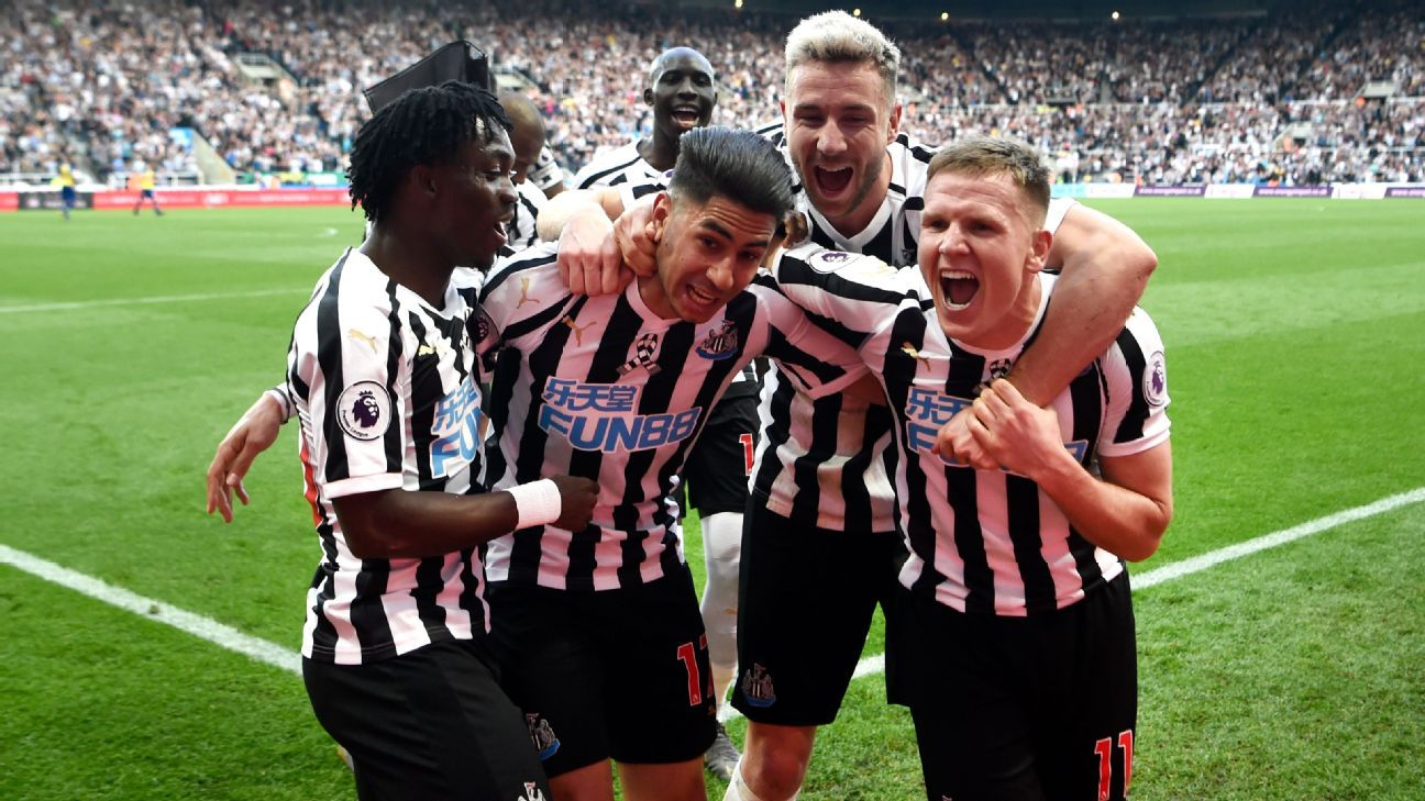 Perez hat-trick ends Newcastle relegation fears