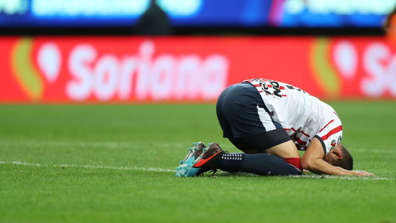 Liga MX review: Chivas' fifth consecutive loss sends Guadalajara club into crisis