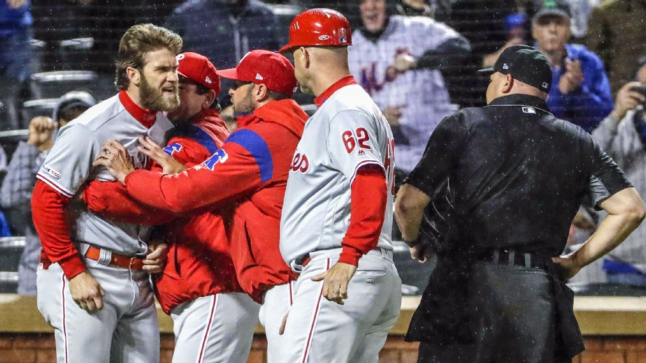 MLB looks at Harper's rant; no call on discipline