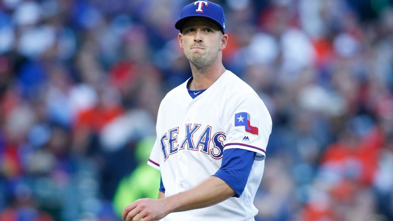 Rangers' Smyly sidelined by nerve tightness