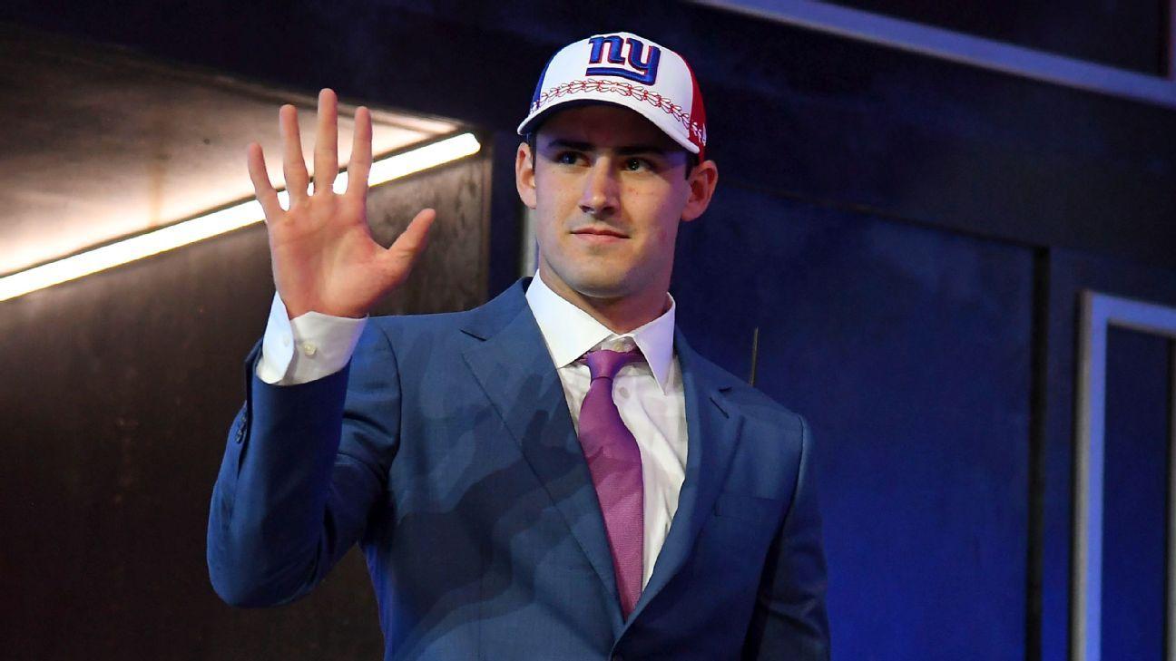 fdd7a91e QB crush: How the Giants fell head over heels for Daniel Jones - New York  Giants Blog- ESPN