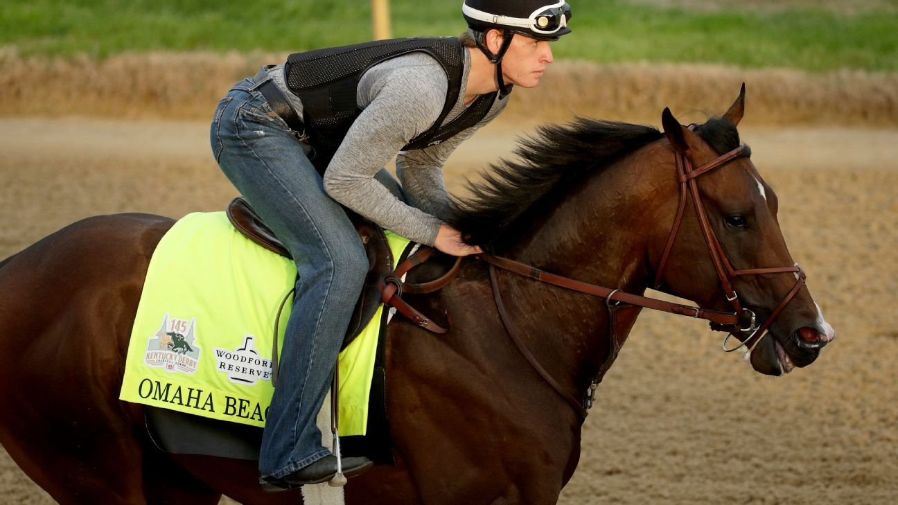 Derby favorite Omaha Beach scratched from race