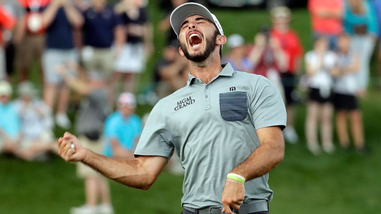 Homa claims first PGA Tour title at Quail Hollow
