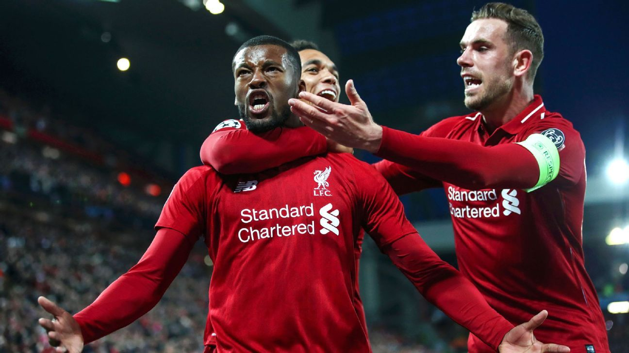 3addcc62998 Liverpool complete historic comeback to beat Barcelona