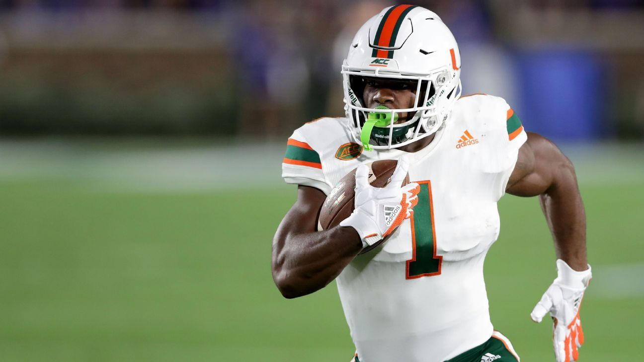 The Miami Dolphins signed running back Mark Walton on Sunday after he tried out at the team's rookie minicamp this weekend.