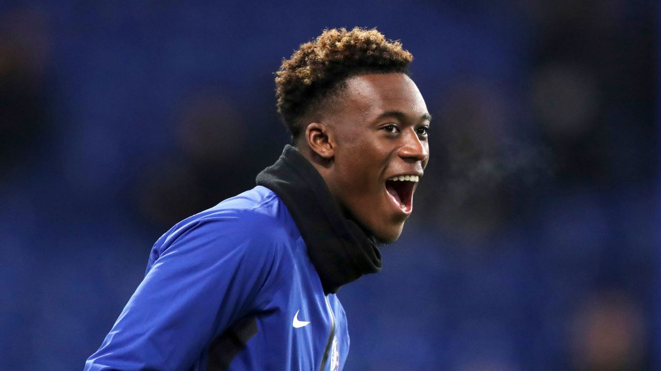 Hudson-Odoi signs new five-year Chelsea deal