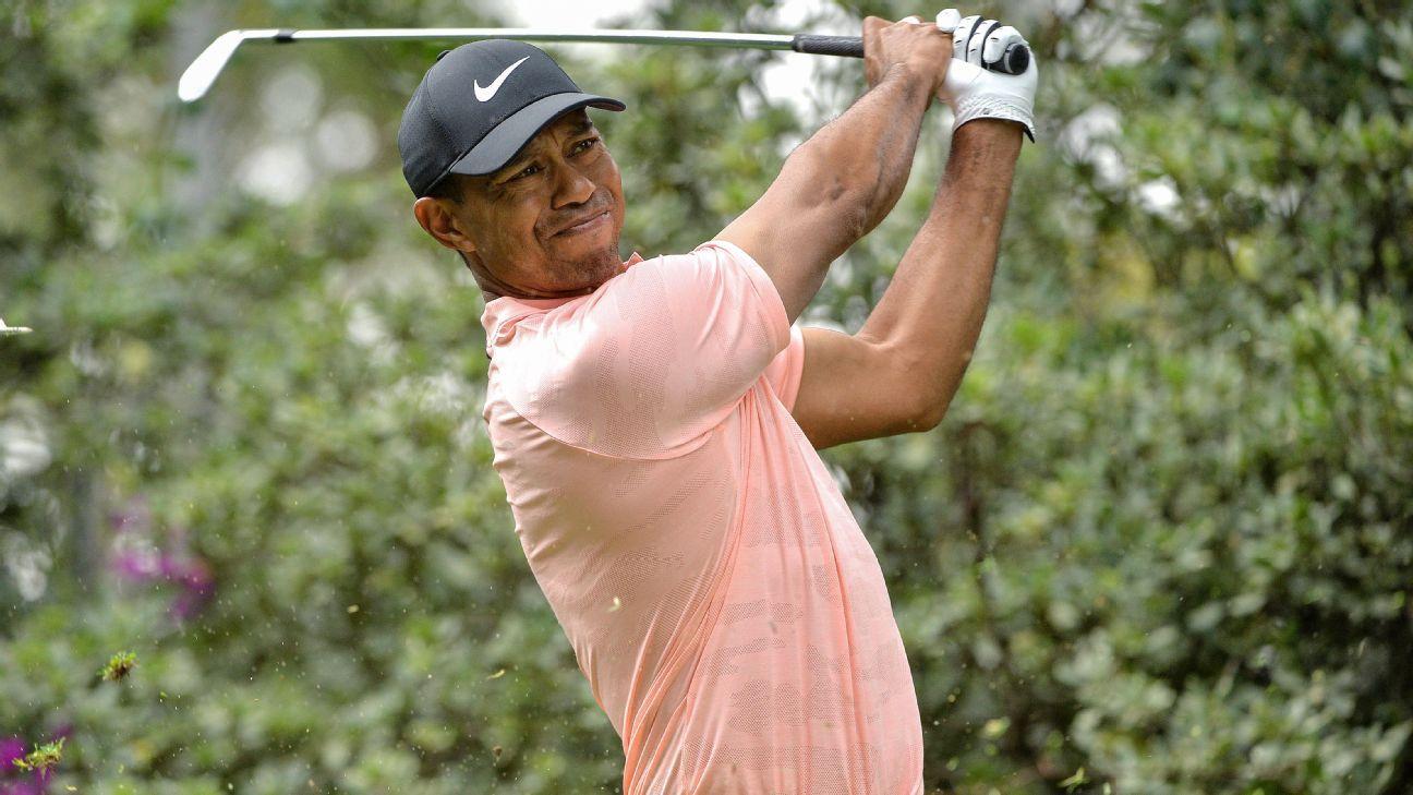 Tiger enters next week's Memorial Tournament