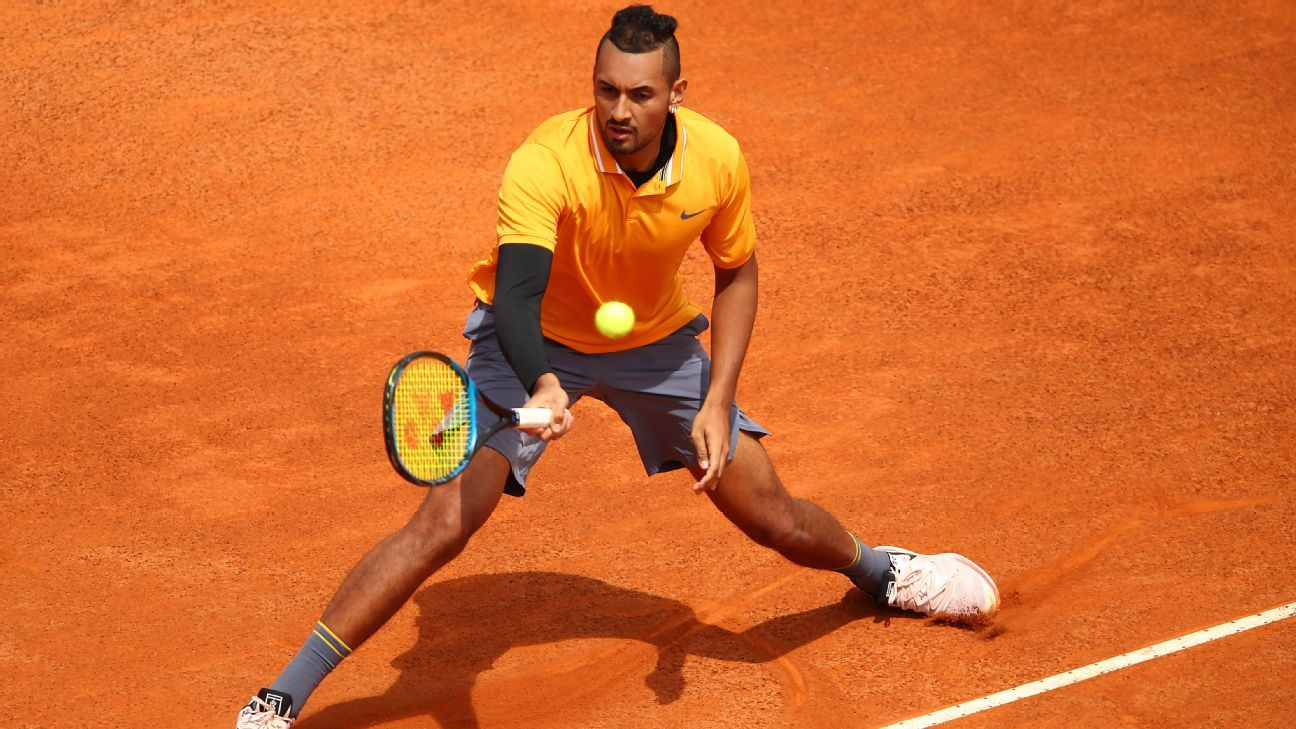 Nick Kyrgios and the Nadals continue to spar