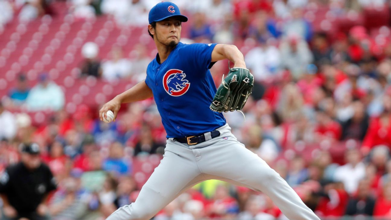 'He's a legend in Chicago': Yu Darvish knows what facing Jake Arrieta means