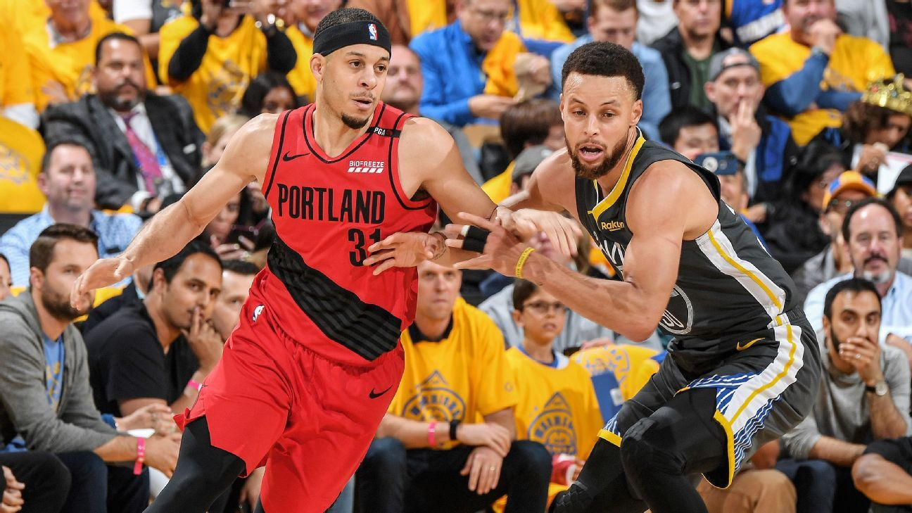 'I was trying to get in his head': The Curry sibling rivalry briefly took over Game 2