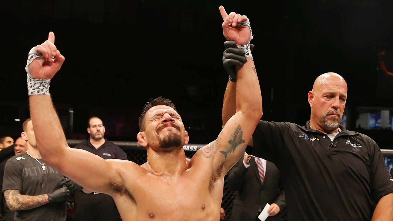 Dos Anjos-Edwards to headline UFC San Antonio