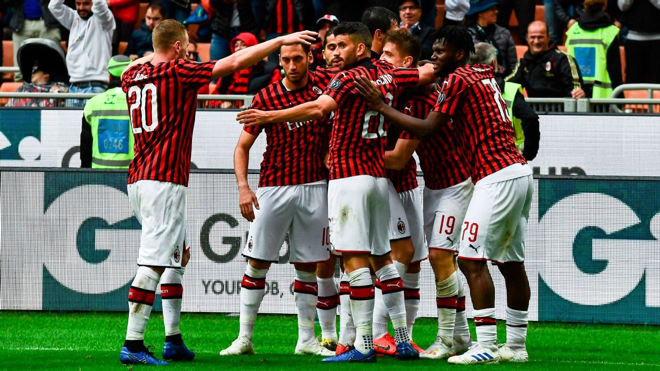 Image result for milan vs frosinone photos