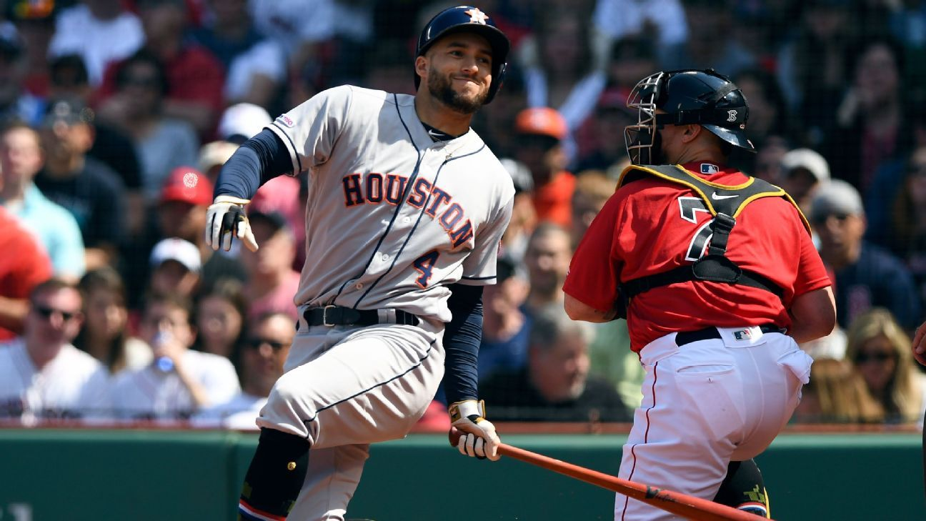 Springer leaves game with undisclosed injury