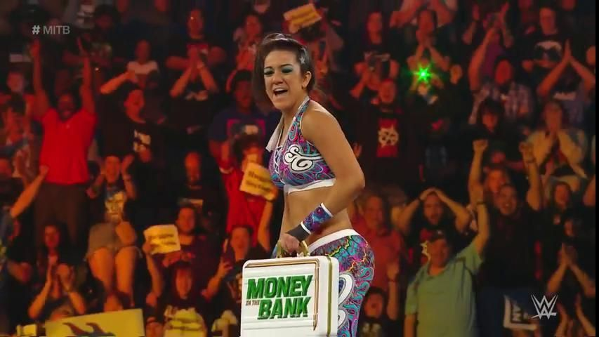 WWE Money in the Bank results: Bayley wins women