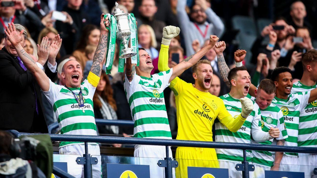 Celtic clinch 'Triple Treble' with Scottish Cup win