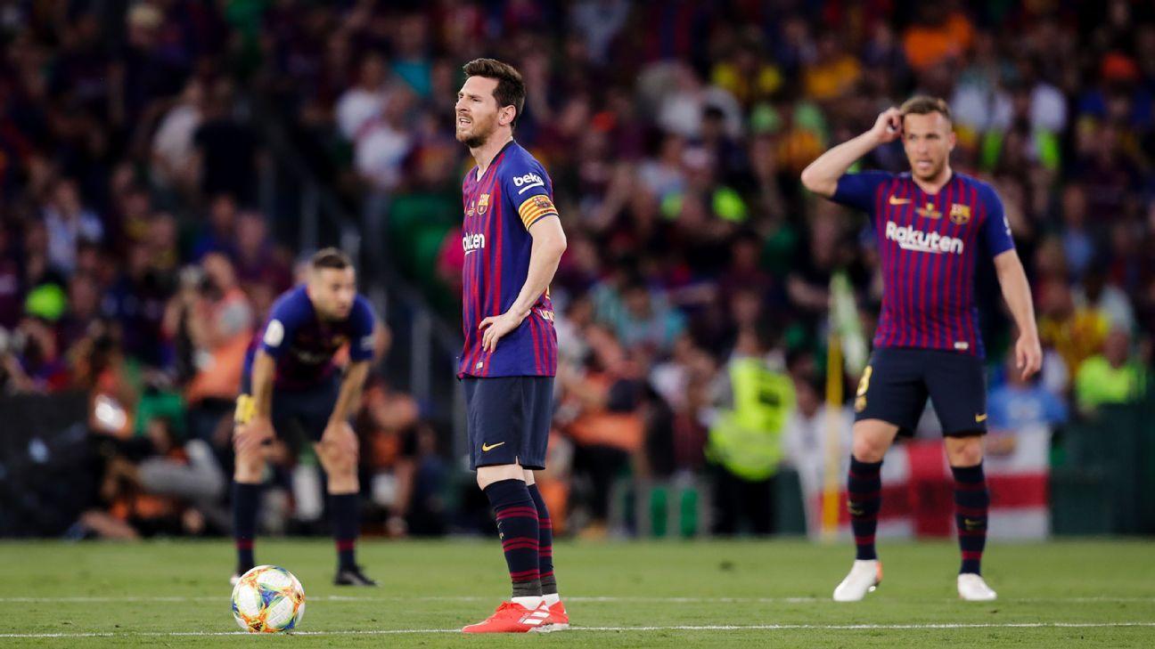 Barcelona vs. Valencia - Football Match Report - May 25 ...