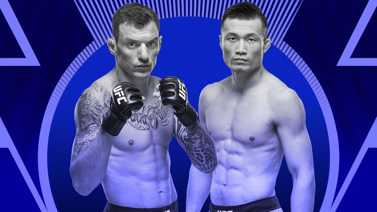 Moicano, Jung make weight for Saturday bout