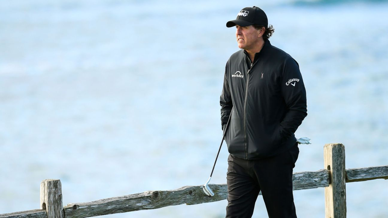 Mickelson: 'Probably' never win the U.S. Open