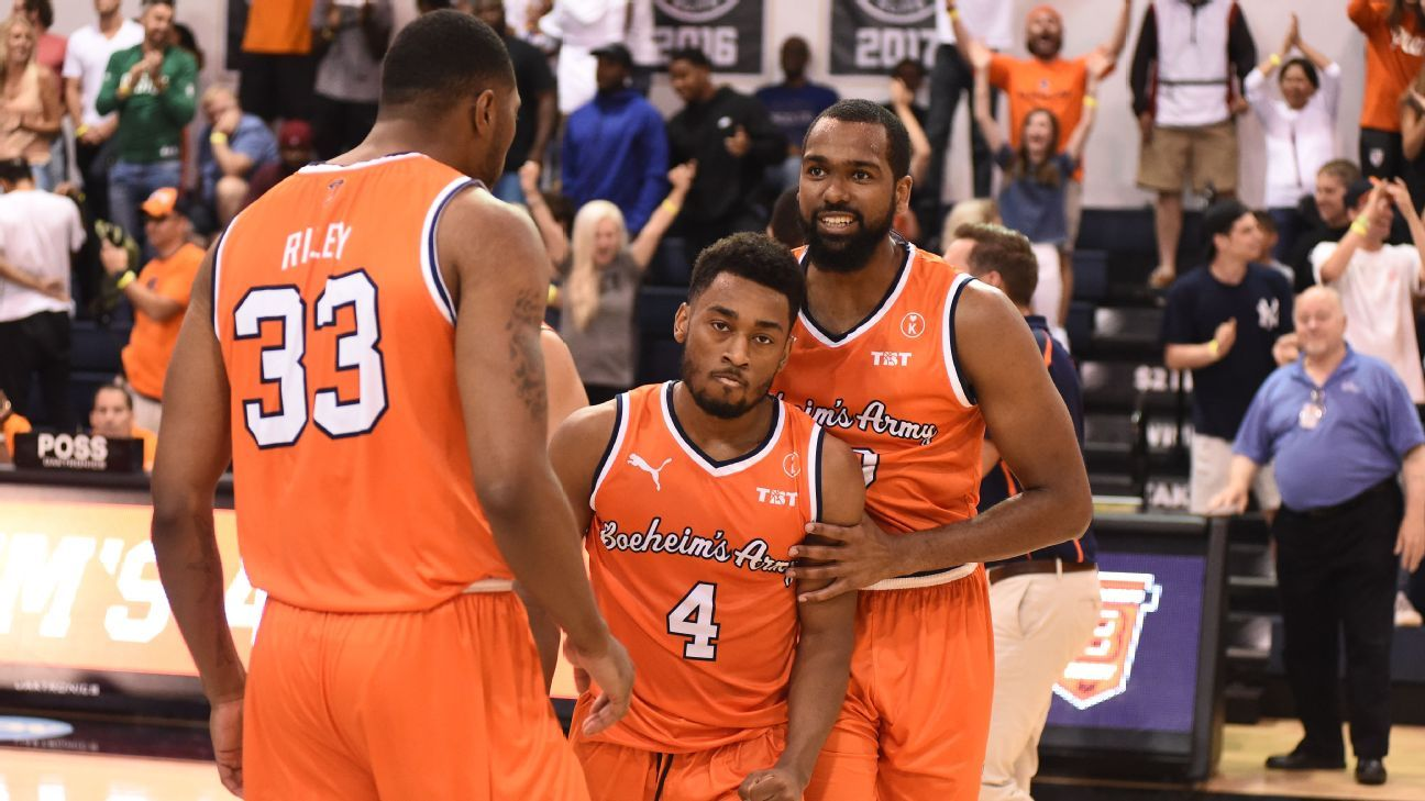 259ecadf4ad4d7 Ranking every team in the 2019 TBT bracket, 1 to 64